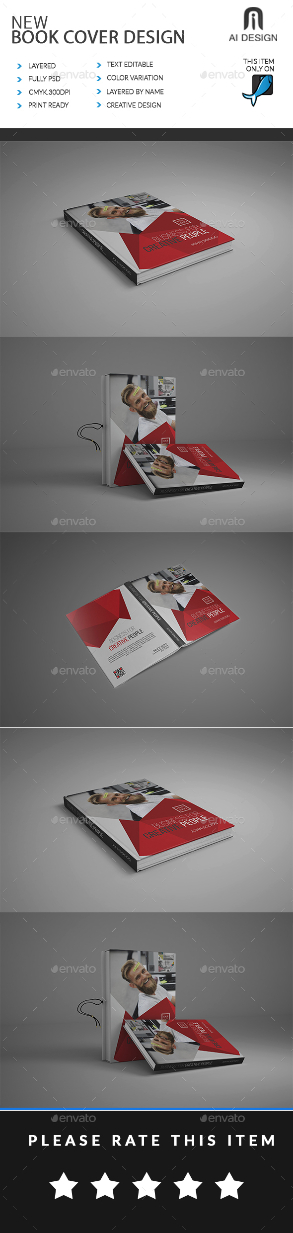 Book Cover - Miscellaneous Print Templates