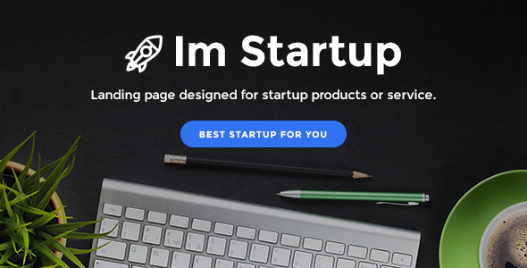 ImStartup - Startup Landing Page WordPress Theme - Marketing Corporate