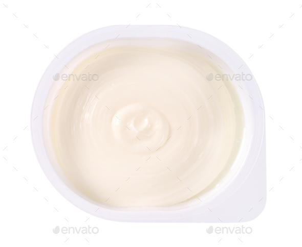 sweet cream cheese - Stock Photo - Images