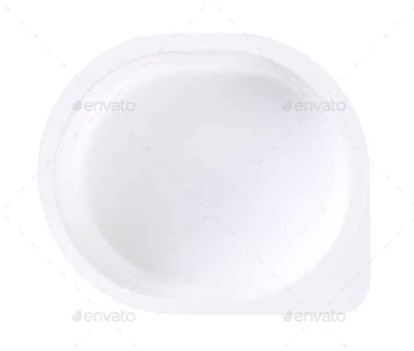 empty plastic container - Stock Photo - Images
