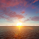 Sunrise Over Calm Ocean - VideoHive Item for Sale