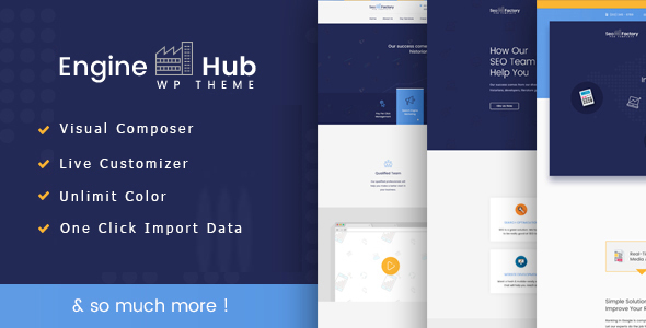 Image of Engine Hub Marketing WordPress Theme