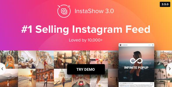 Instagram Feed - WordPress Instagram Gallery - CodeCanyon Item for Sale