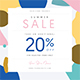 Summer Fashion Sale Flyer + Instagram Post - GraphicRiver Item for Sale