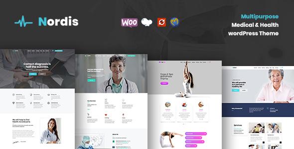 Image of Nordis - Medical & Health WordPress Theme