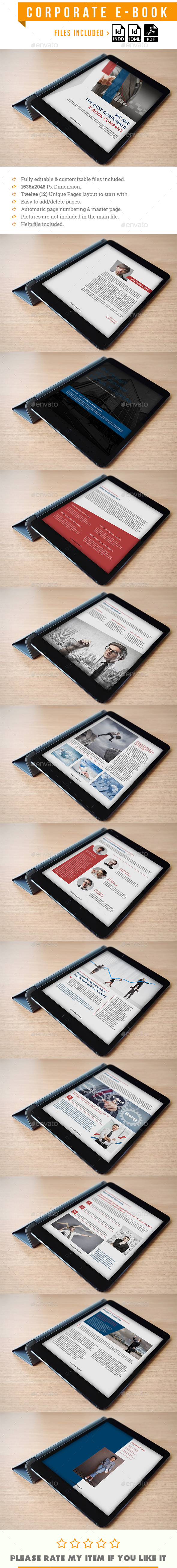 Corporate E-Book Template - Digital Books ePublishing