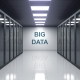 BIG DATA Caption on the Wall of a Server Room - VideoHive Item for Sale