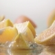 Orange Splits Into Halves on Water - VideoHive Item for Sale