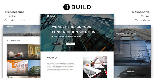 Build_Architecture / Interior / Construction Muse Template - Corporate Muse Templates