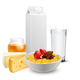 Breakfast Cereals Milk Realistic Composition