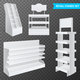 Retail Stands Set Transparent - GraphicRiver Item for Sale