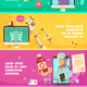 Digital Health Horizontal Banners - GraphicRiver Item for Sale
