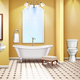 Simple Bathroom Interior Realistic Composition - GraphicRiver Item for Sale