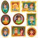 Princesses and Queens Portrait Wall - GraphicRiver Item for Sale
