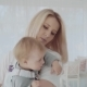 Young Pretty Woman Kissing Her Beautiful Little Daughter. Happy Family. - VideoHive Item for Sale
