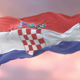 Flag of Croatia at Sunset - VideoHive Item for Sale