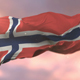 Flag of Norway at Sunset - VideoHive Item for Sale