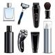 Shaving Equipment Realistic Set