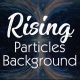 Rising Particles Background - VideoHive Item for Sale