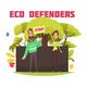 Eco Defenders Cartoon Composition