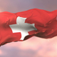Flag of Switzerland at Sunset - VideoHive Item for Sale