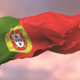 Flag of Portugal at Sunset - VideoHive Item for Sale