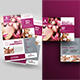 Beauty Flyer with Postcard Bundle - GraphicRiver Item for Sale