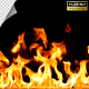 Realistic Fire Line in Super Slow Motion - Alpha Channel v.12 - VideoHive Item for Sale