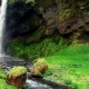 Fantastic Landscape of Mountains and Waterfalls in Iceland - VideoHive Item for Sale