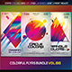 Colorful Flyers Bundle Vol. 66 - GraphicRiver Item for Sale