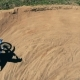 Man Races on a Motorbike - VideoHive Item for Sale