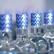 Labelled Bottles Go on a Conveyor - VideoHive Item for Sale