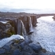 The Powerful Selfoss Waterfall in Iceland - VideoHive Item for Sale
