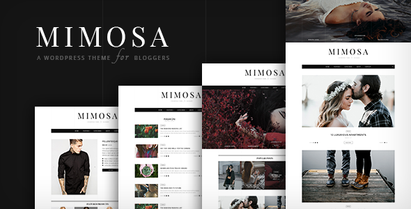 Mimosa | WordPress Theme for Bloggers - Personal Blog / Magazine