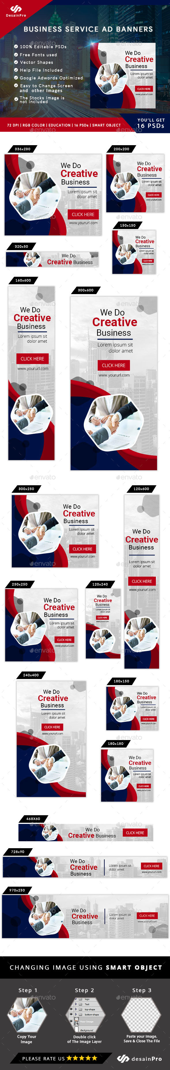 Multipurpose Ad Banners - AR - Banners & Ads Web Elements