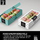 Food Pastry Boxes Vol.2: Cookies | Macarons | Pastry Take Out Packaging Mock Ups - GraphicRiver Item for Sale