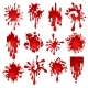 Blood Blots Set - GraphicRiver Item for Sale