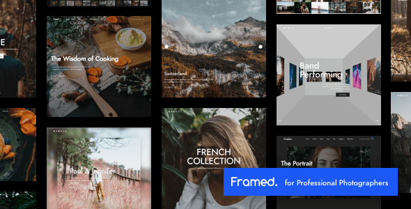 Framed | Photography WordPress for Photography