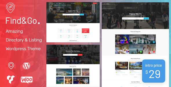 Findgo – Directory & Listing WordPress Theme
