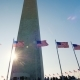 Sunlight Shines Because of the Washington Monument, DC - VideoHive Item for Sale