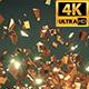Glitter Golden Shards 4k - VideoHive Item for Sale