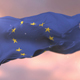Flag of Europe at Sunset - VideoHive Item for Sale