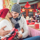 Young couple at Christmas - PhotoDune Item for Sale