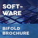IT – Software Company Bifold / Halffold Brochure