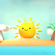 Cute Sunny Tropical Island - VideoHive Item for Sale