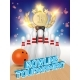 Bowling Tournament Poster Vector
