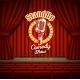 Comedy Show Theater Scene with Red Curtains Vector - GraphicRiver Item for Sale