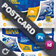 Ocean Diving Postcard Templates - GraphicRiver Item for Sale