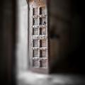 Blur door wood