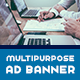 Multipurpose Ad Banners Template - AR - GraphicRiver Item for Sale